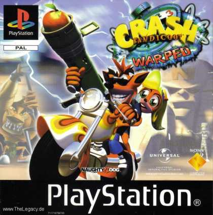 Misc. Games - Crash Bandicoot 3: Warped