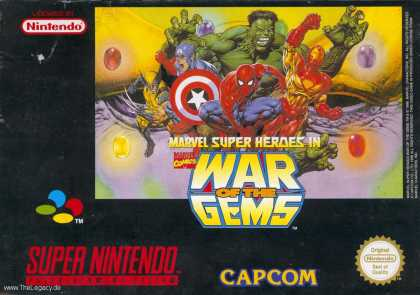Misc. Games - War of the Gems