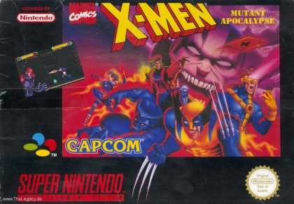 Misc. Games - X-Men: Mutant Apocalypse