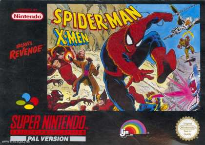 Misc. Games - Spider-Man X-Men Arcade´s Revenge