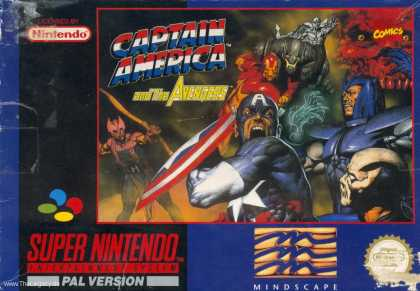 Misc. Games - Captain America and the Avengers