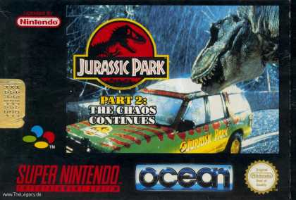 Misc. Games - Jurassic Park Part 2: The Chaos Continues