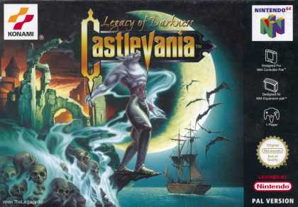Misc. Games - Castlevania: Legacy of Darkness