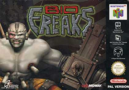 Misc. Games - Bio Freaks