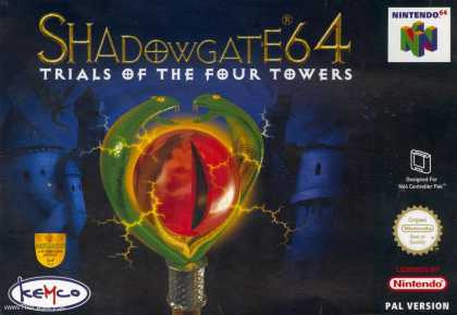 Misc. Games - Shadowgate 64: Trials of the four Towers