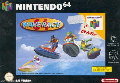 Misc. Games - Wave Race 64