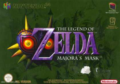 Misc. Games - Legend of Zelda, The: Majora's Mask