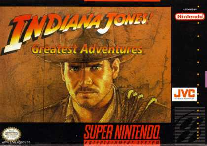 Misc. Games - Indiana Jones Greatest Adventures