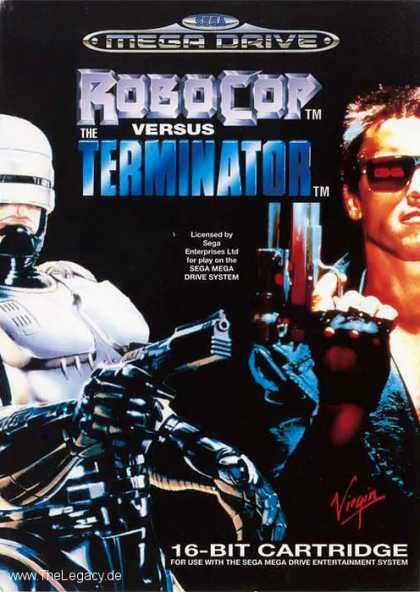 Misc. Games - Robocop versus the Terminator