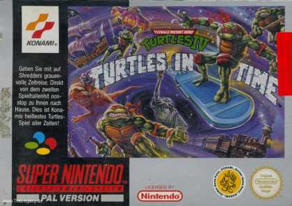 Misc. Games - Teenage Mutant Ninja Turtles IV: Turtles in Time