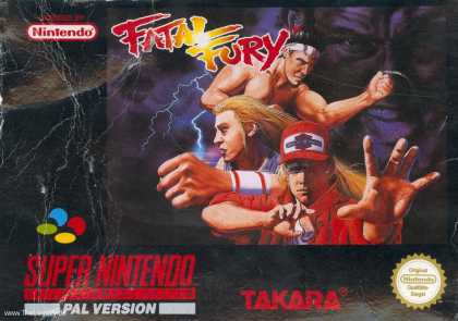 Misc. Games - Fatal Fury