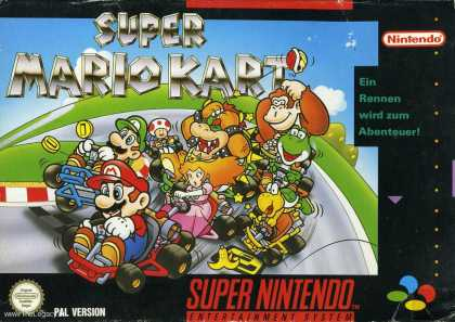 Misc. Games - Super Mario Kart