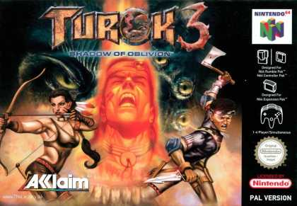Misc. Games - Turok 3: Shadow of Oblivion