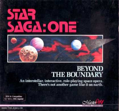 Misc. Games - Star Saga One: Beyond the Boundary