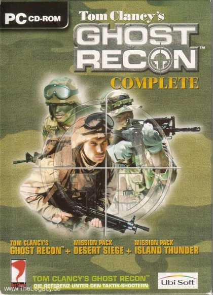 Misc. Games - Tom Clancy's Ghost Recon Complete