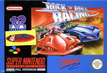 Misc. Games - Rock'n'Roll Racing