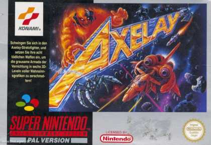 Misc. Games - Axelay