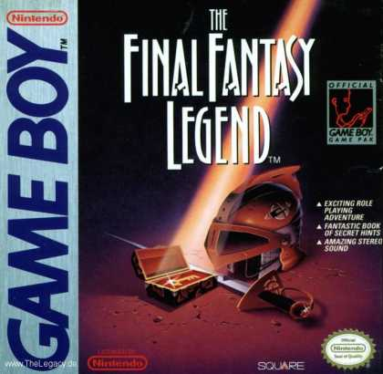 Misc. Games - Final Fantasy Legend, The