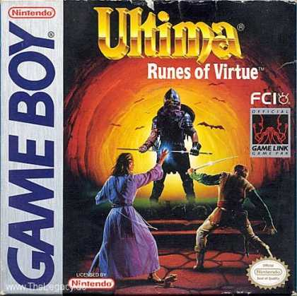 Misc. Games - Ultima: Runes of Virtue