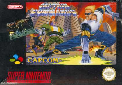 Misc. Games - Captain Commando