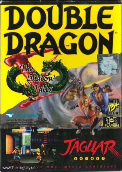 Misc. Games - Double Dragon V: The Shadow Falls