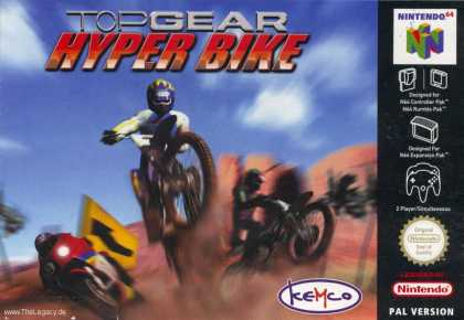 Misc. Games - Top Gear Hyper Bike