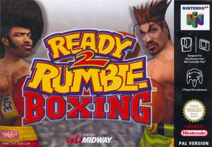 Misc. Games - Ready 2 Rumble Boxing