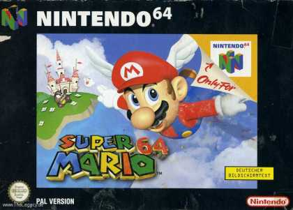 Misc. Games - Super Mario 64