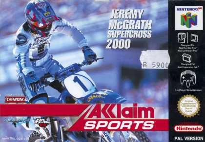 Misc. Games - Jeremy McGrath Supercross 2000