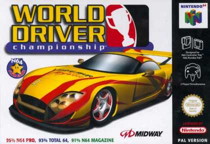 Misc. Games - World Driver Championship
