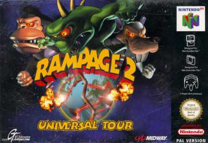 Misc. Games - Rampage 2: Universal Tour