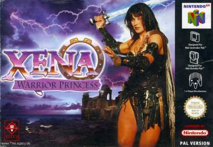 Misc. Games - Xena - Warrior Princess: The Talisman of Fate