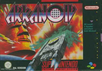 Misc. Games - Arkanoid: Doh It Again