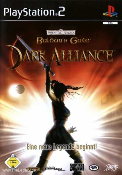 Misc. Games - Baldur's Gate: Dark Alliance