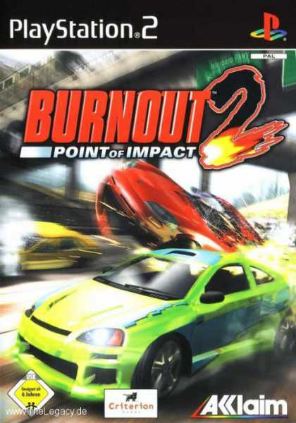 Misc. Games - Burnout 2: Point of Impact