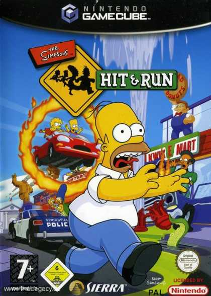 Misc. Games - Simpsons, The - Hit & Run