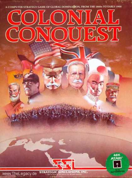 Misc. Games - Colonial Conquest