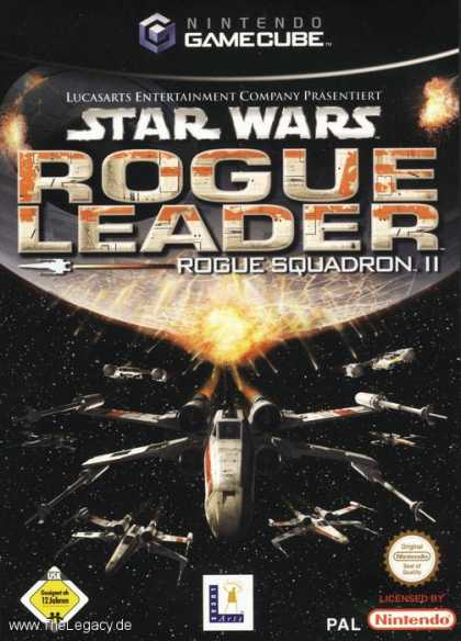 Misc. Games - Star Wars - Rogue Squadron II: Rogue Leader