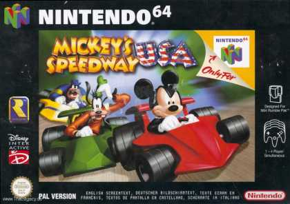Misc. Games - Mickey´s Speedway USA