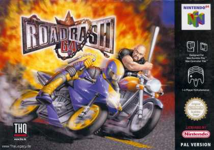 Misc. Games - Road Rash 64