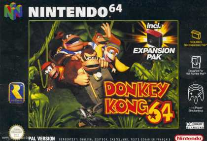 Misc. Games - Donkey Kong 64