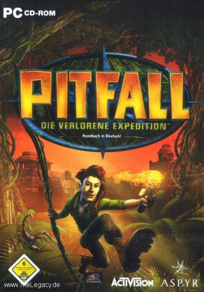 Misc. Games - Pitfall: Die verlorene Expedition