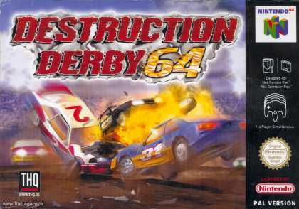 Misc. Games - Destruction Derby 64