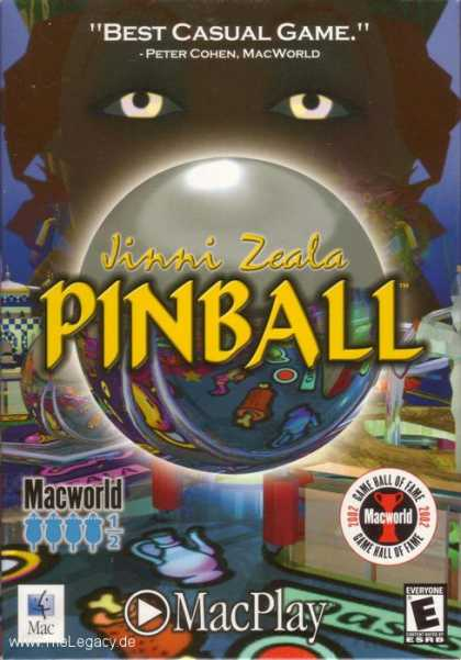 Misc. Games - Solid State Pinball: Jinni Zeala