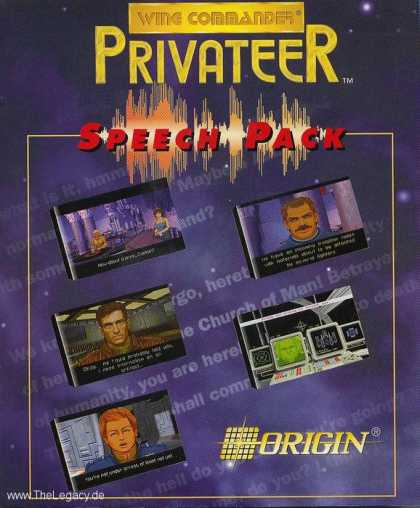 Misc. Games - Wing Commander - Privateer - Speech Pack