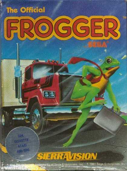 Misc. Games - Frogger I