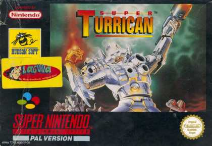 Misc. Games - Super Turrican
