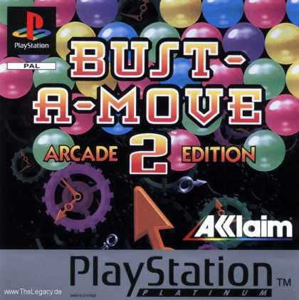 Misc. Games - Bust-A-Move 2 Arcade Edition