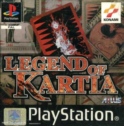 Misc. Games - Kartia: The Word of Fate
