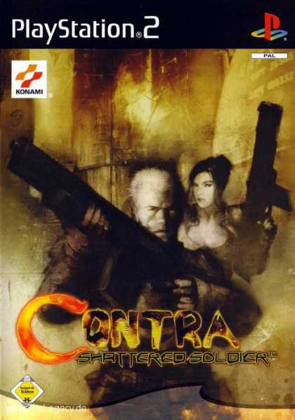 Misc. Games - Contra: Shattered Soldier